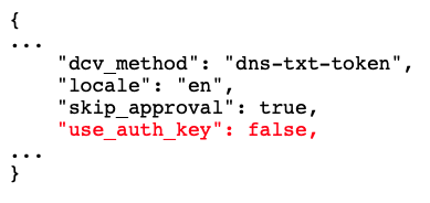 use_auth_key sample